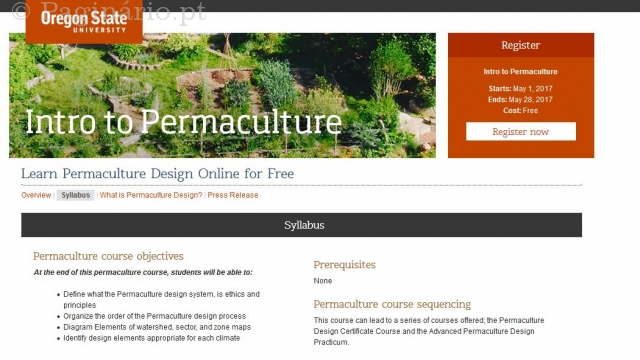 intro to permaculture - Massive Online Open Course - Oregon State University