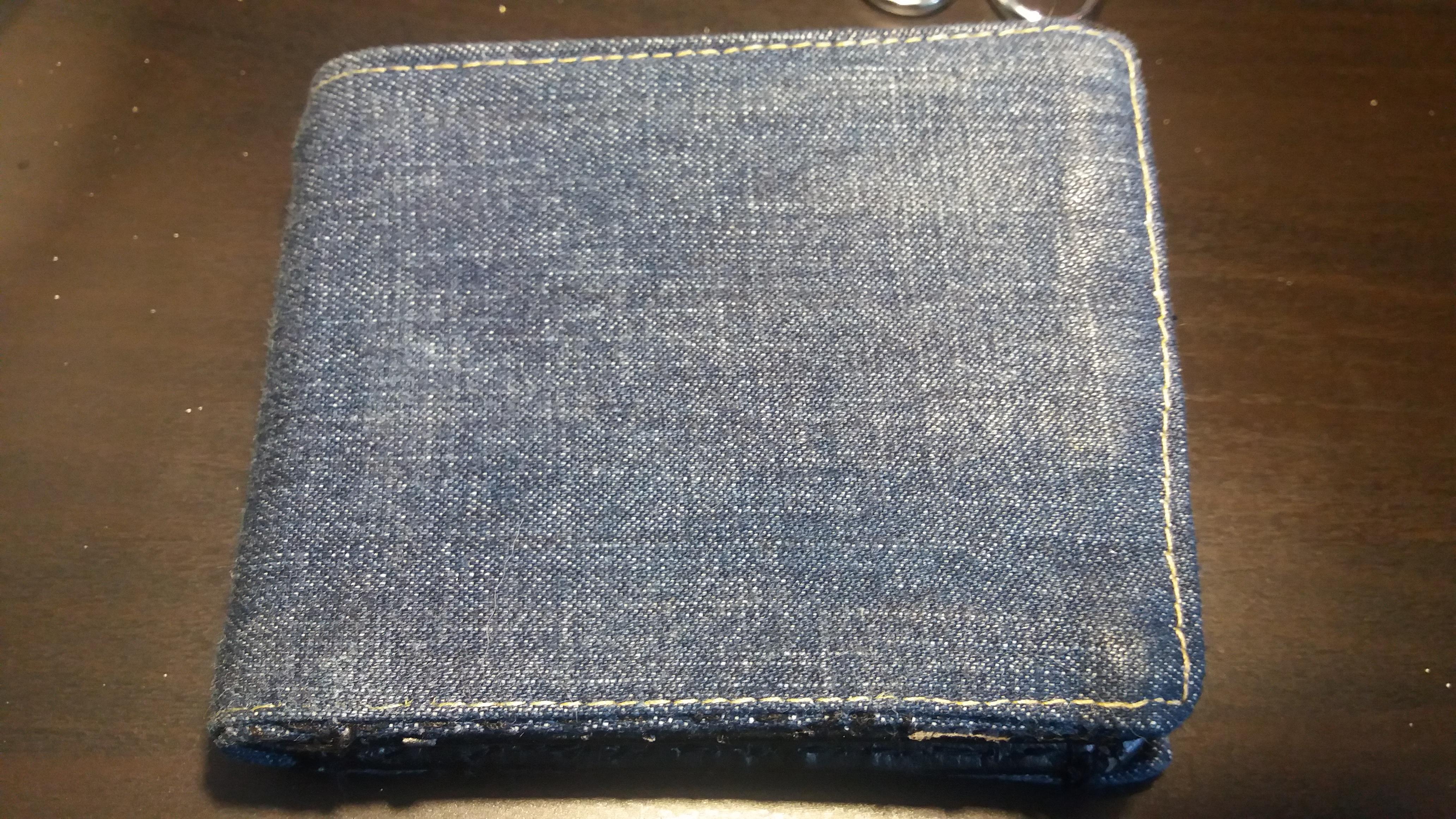 Restauro de uma carteira